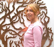 Bronwen Glazzard, artist and designer