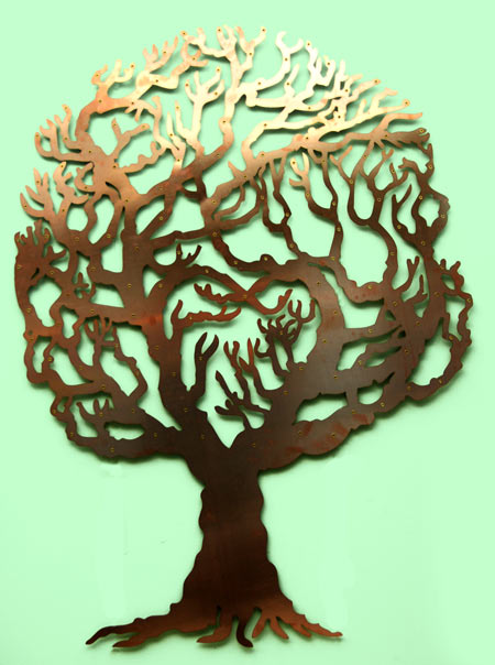 Love Tree copper fundraising memory trere